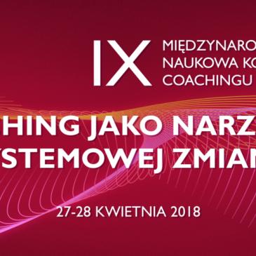 BezKlepki partnerem IX Międzynarodowej naukowej konferencji coachingu