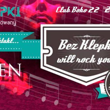 Występ: Bez Klepki will rock you! (27 stycznia)